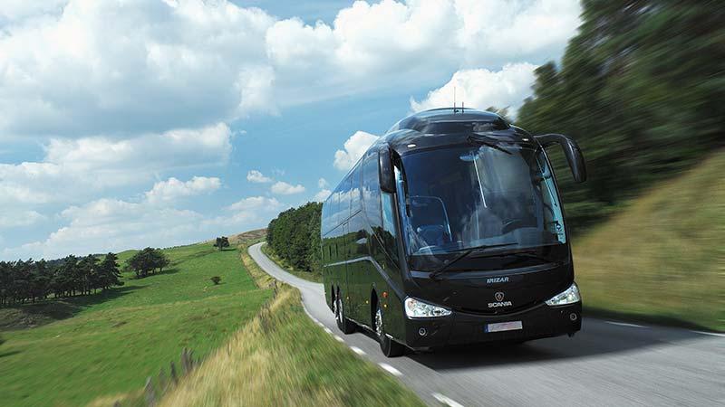 תמונה של אוטובוס מסלולים שחור 2