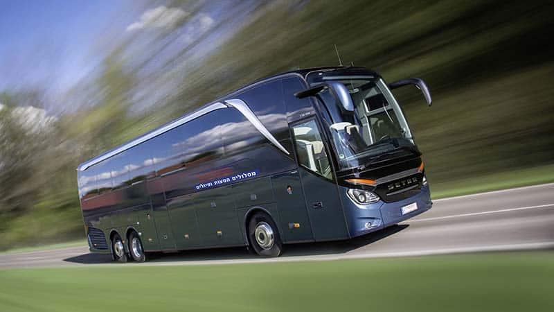 תמונה של אוטובוס מסלולים כחול ככה 2