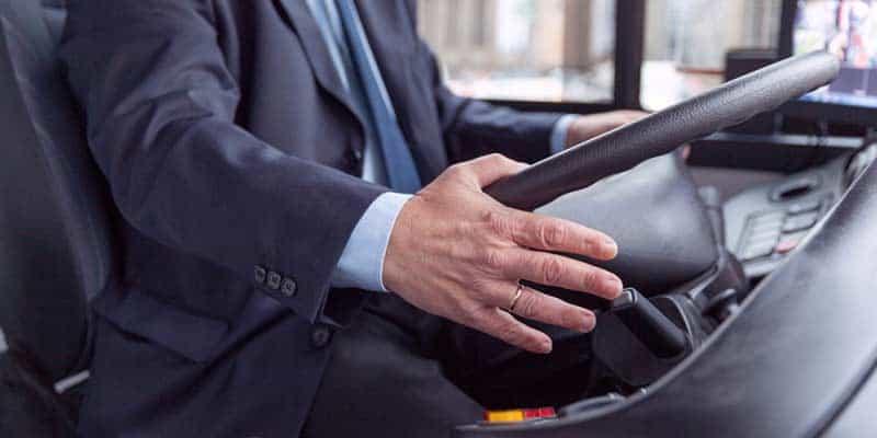 תמונה של נהג אוטובוס